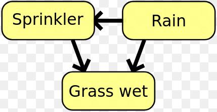 在贝叶斯网络中,变量之间的关系结构可以通过互信息来确定。